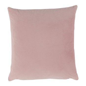 Vankúš, zamatová látka pudrová ružová, 45x45, ALITA TYP 2