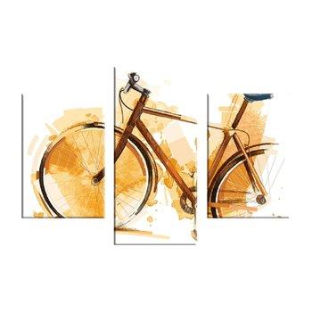 3-dielny obraz tlačený na plátno, viacfarebný, 60x40, MA 1003 ŠPECIÁL
