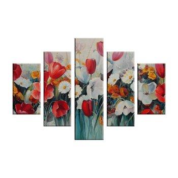 5-dielny obraz, tlačený na plátno, 150x100, MA 1033