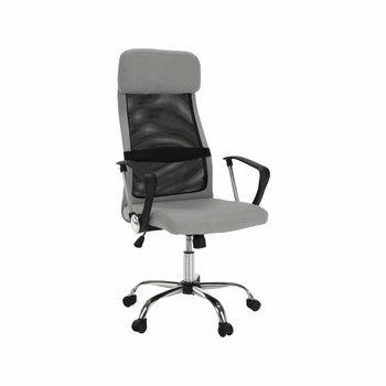 Kancelárske kreslo, sivá/čierna, FABRY NEW