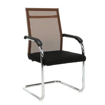 Zasadacia stolička, hnedá/čierna, ESIN