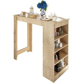 Barový stôl, dub sonoma, AUSTEN