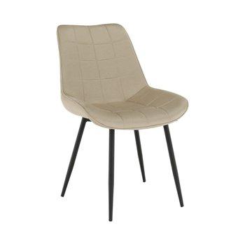 Stolička, béžová/čierna, SARIN