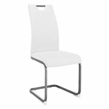 Jedálenská stolička, biela, DEKOMA