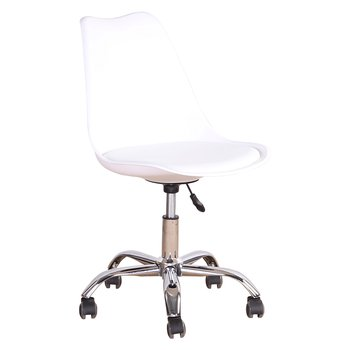 Kancelárska stolička, biela, DARISA NEW