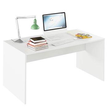 Písací stôl, biela, RIOMA TYP 16