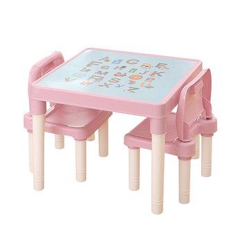 Detský set 1+2, ružová/korálová, BALTO