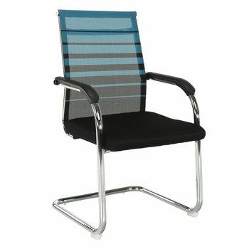 Zasadacia stolička, modrá/čierna, ESIN