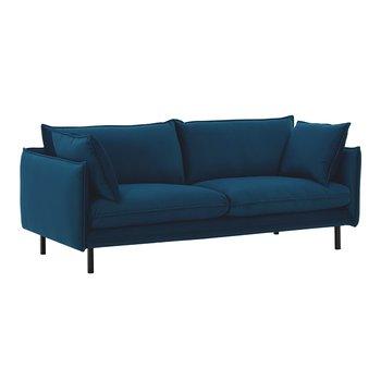 Luxusný 2-sed, parížska modrá, VINSON 2