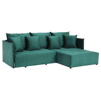 Univerzálna sedacia súprava, smaragdová, LENY ROH