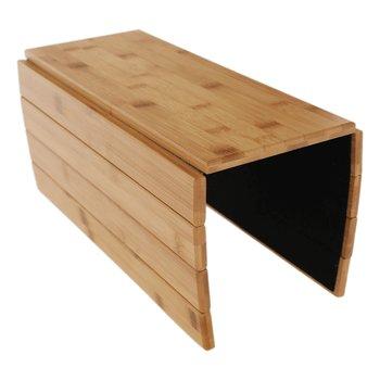 Odkladacia podložka na sedačku, prírodný bambus, ALTE