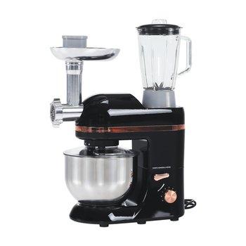 Kuchynský robot, 1800 W, 5 l, čierna/zlatá/chróm, KANTE