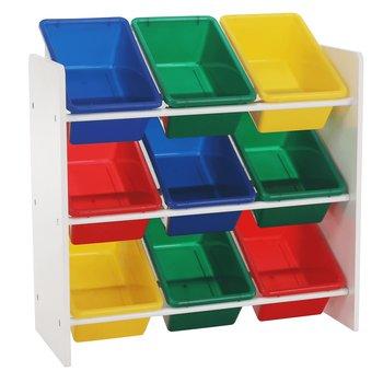 Organizér na hračky, viacfarebná/biela, KIDO TYP 2