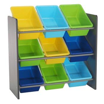Organizér na hračky, viacfarebná/sivá, KIDO TYP 3