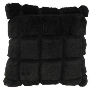 Vankúš, čierna, 45x45, VANKE TYP 5
