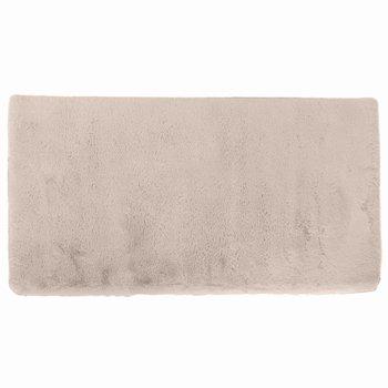 Luxusný shaggy koberec, béžová, 80x150, KAMALA LUX