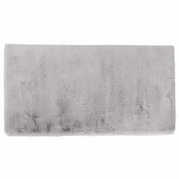 Luxusný shaggy koberec, sivá, 140x200, KAMALA LUX