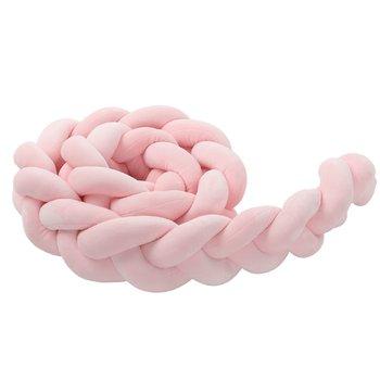 Mantinel do postieľky, ružová, 200cm, MINKO TYP 2