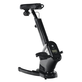 Kancelárska stolička/stacionárny bicykel, čierna, BIKE