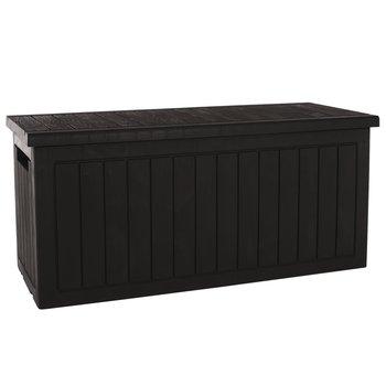 Záhradný úložný box, hnedá, DAGON