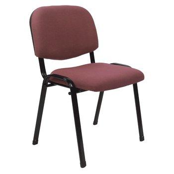 Kancelárska stolička, červenohnedá, ISO 2 NEW