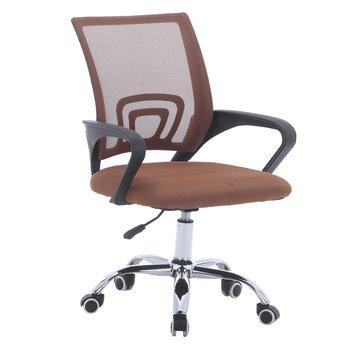 Kancelárska stolička, hnedá/čierna, DEX 2 NEW
