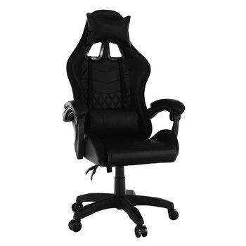Kancelárske/herné kreslo s RGB LED podsvietením, čierna, MAFIRO