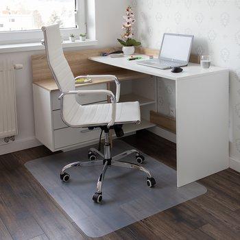 Ochranná podložka pod stoličku, transparentná, 140x100 cm, 0,8 mm, ELLIE NEW TYP 4