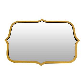 Zrkadlo, zlatý rám, OUSO