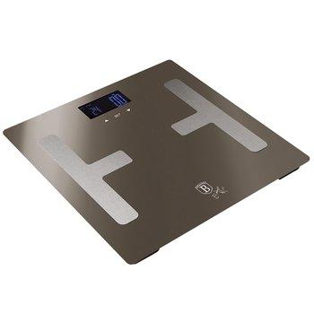 Osobná váha, metalická Carbon, BERLINGERHAUS BH-9103