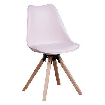 Štýlová otočná stolička, perlová, ETOSA