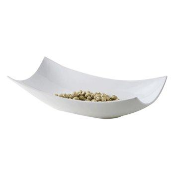 Servírovacia misa, biela, keramika, EMCO