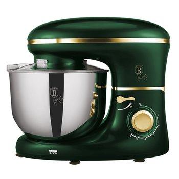 Kuchynský robot, 1300 W, 6 l, metalická zelená Emerald, BERLINGERHAUS BH-9195