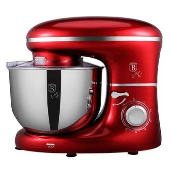 Kuchynský robot, 1300 W, 6 l, metalická červená Burgundy, BERLINGERHAUS BH-9193