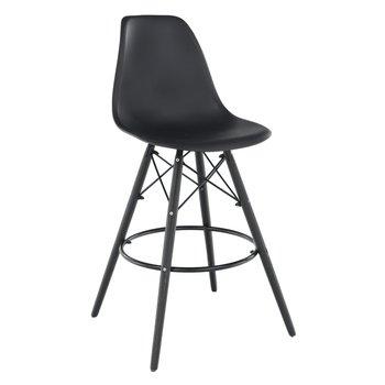 Barová stolička, čierna, CARBRY NEW, rozbalený tovar 2