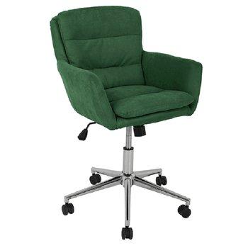Kancelárske kreslo, látka smaragdová, KAILA