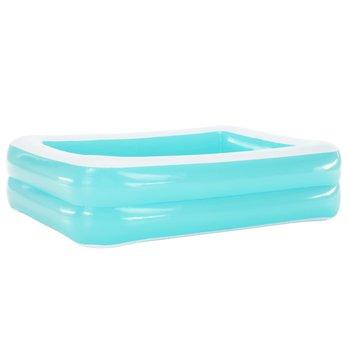 Nafukovací bazén, obdĺžnik, modrá/biela, POLON TYP 1