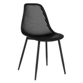 Jedálenská stolička, čierna, TEGRA TYP 2