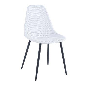 Jedálenská stolička, biela, TEGRA TYP 2