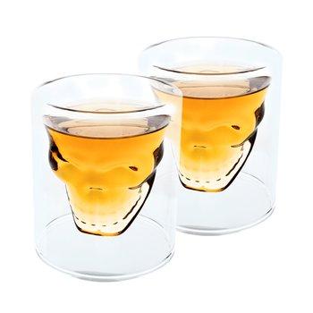 Termo poháre, set 2 ks, lebka, 250 ml, HOTCOOL TYP 8