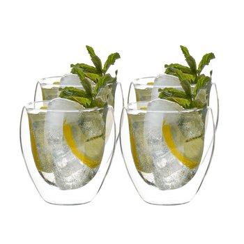Termo poháre, set 4 ks, na vodu, 250 ml, HOTCOLD TYP 9
