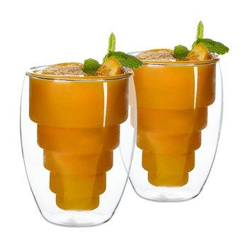 Termo poháre, set 2 ks, na džús, 250 ml, HOTCOLD TYP 17