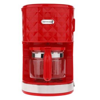Prekvapkávací kávovar, červená, plast/kov, DIAMOND TYP 3