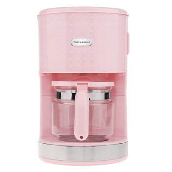 Prekvapkávací kávovar, ružová, plast/kov, DOTS TYP 3