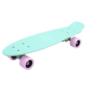 Skateboard, pennyboard, neomint/ružová, TESAL