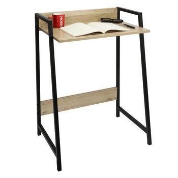 PC stôl, dub sonoma/čierna, LAVSON