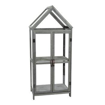 Balkónový skleník, sivá, ORSIO