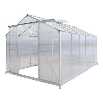 Záhradný skleník, polykarbonát, 252x374x195 cm, KACEN TYP 5
