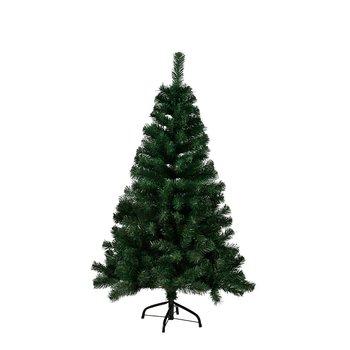 Vianočný stromček s kovovým stojanom, 120 cm, CHRISTMAS TYP 10