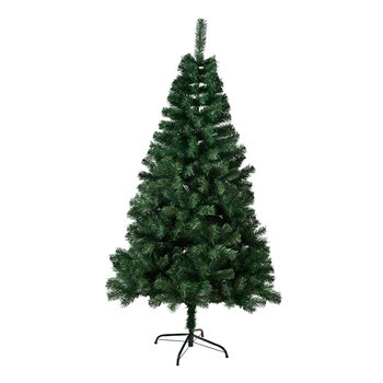 Vianočný stromček s kovovým stojanom, 160 cm, CHRISTMAS TYP 10
